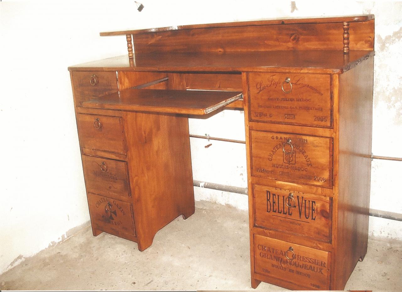 Bureau 2 colonnes for Colonne bureau